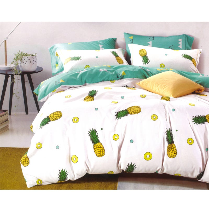 Duvet Cover Pineapple- Simple Bed 39''