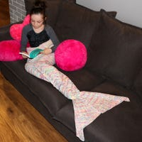 Mermaid Kids Blanket - Multicolor