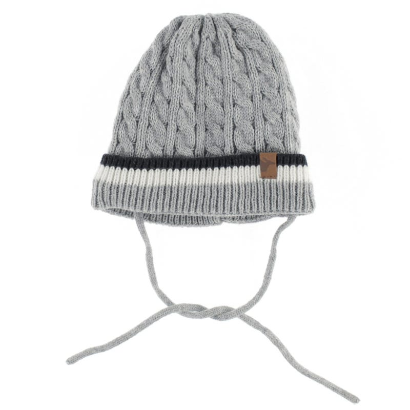 Cable Beanie 0-6m