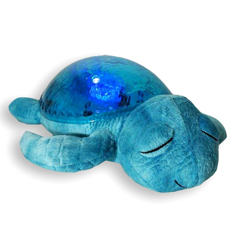 Turtle Twilight Lamp - Aqua