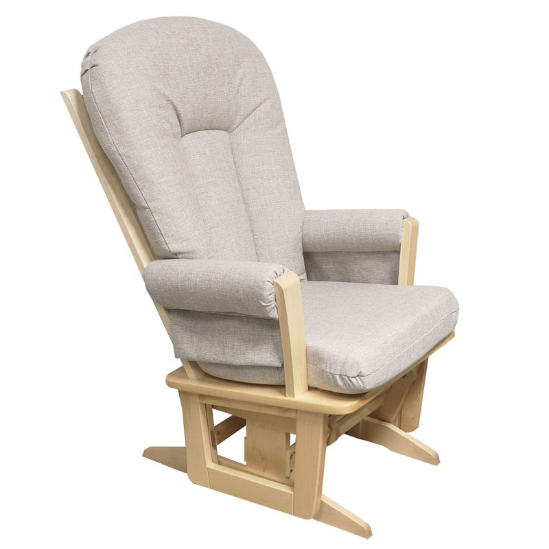 Exclusive Rocking Chair - Naturel Wood / Pale Gray 5211