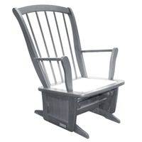 Rocking Chair - Gray Wood