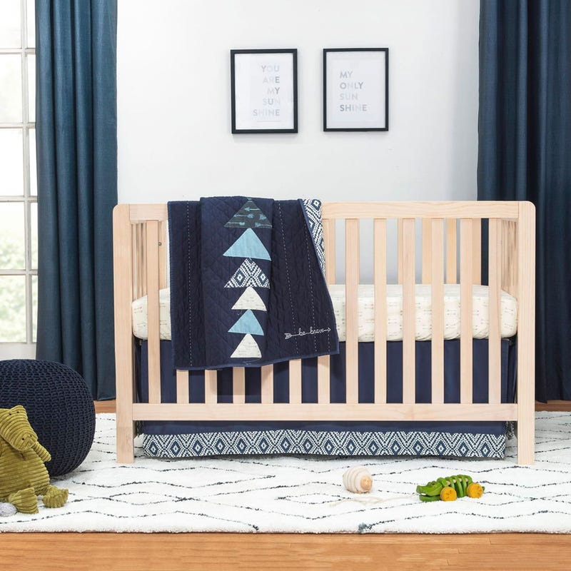 Colby 4-in-1 Convertible Crib - Washed Natural