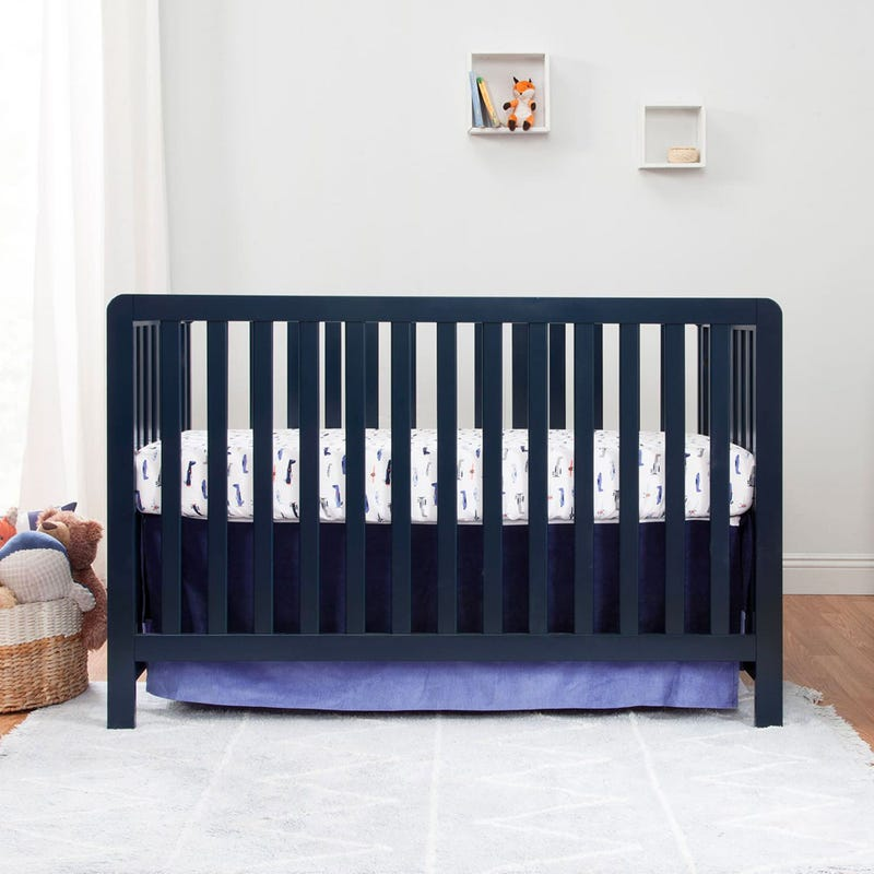 Colby 4-in-1 Convertible Crib - Navy