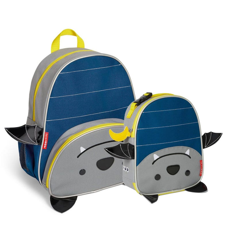 Bundle Backpack and Lunch Box - Bat