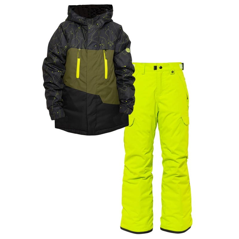 Bundle Snowsuit Geo 8-16y - Black