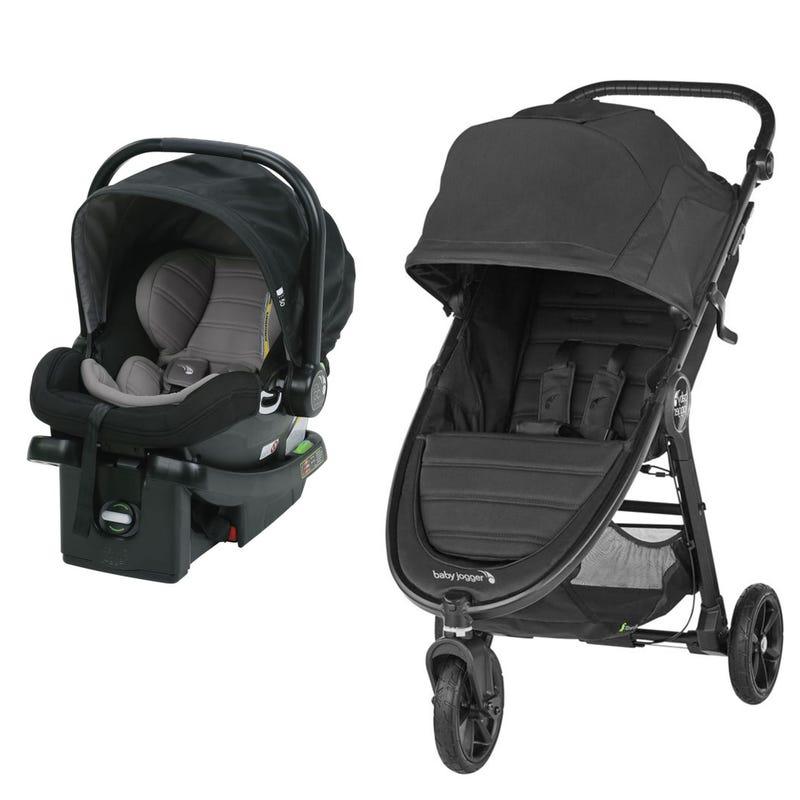 Stroller City Mini GT2 + Car seat City Go - Jet/Black