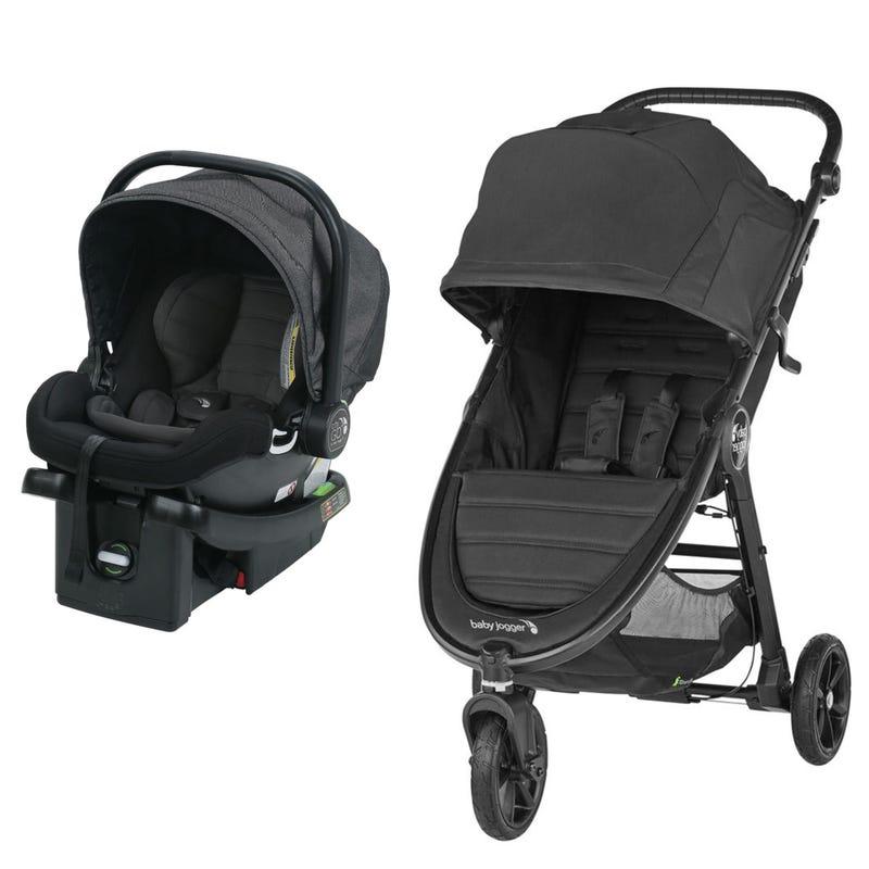 Stroller City Mini GT2 + City Go Car seat 4-35lb - Jet/Charcoal
