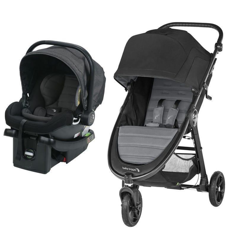 Stroller City Mini GT2 + Car seat City Go - Slate/Charcoal
