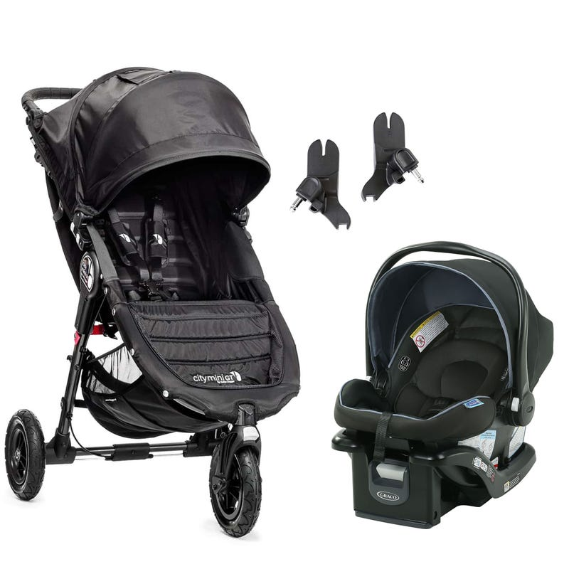 City Mini GT Stroller and SnugRide Car Seat Set