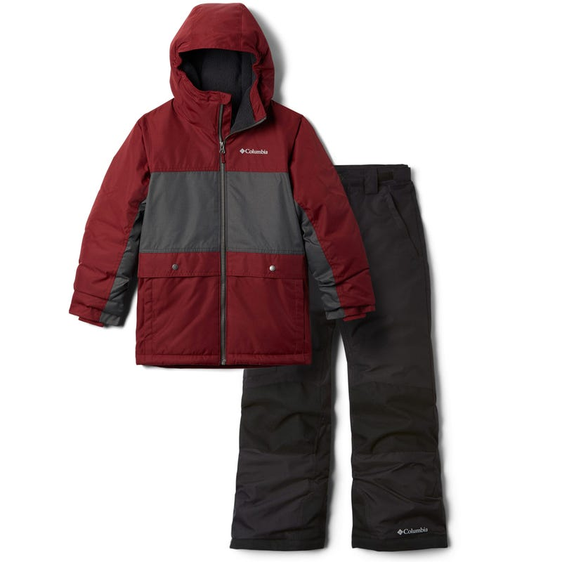 Ensemble Habit de Neige Porteau Cove 8-16ans - Bordeau