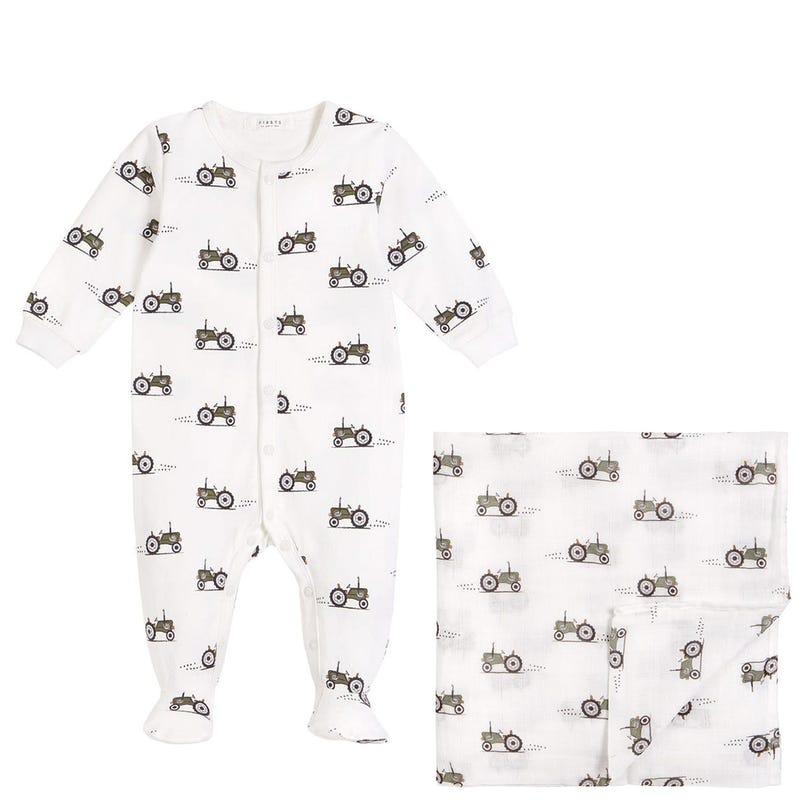 Pyjama + Couverture - Tracteur