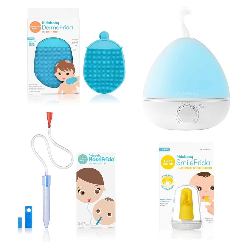 Bundle baby essentials 4 mrcx Frida Baby