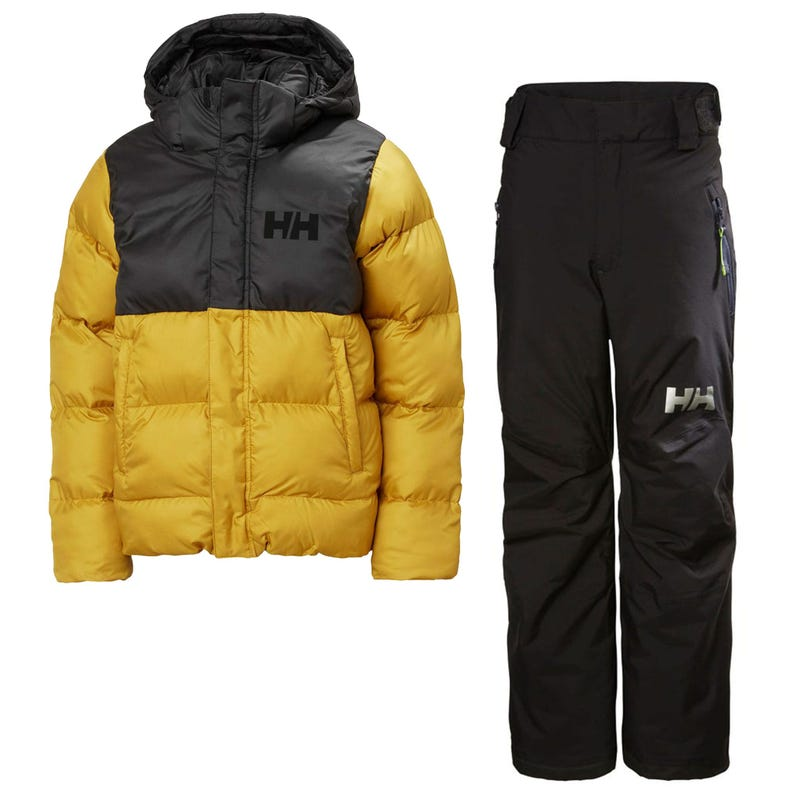 Vision Winter Jacket + Snowpants 8-14y - Yellow