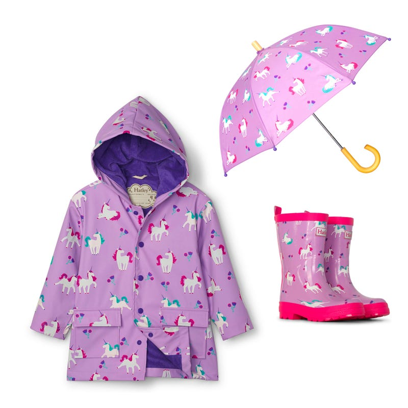 Bundle Unicorn Raincoat 2-8y - Purple