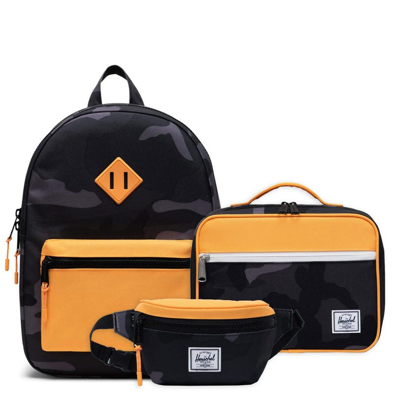Sac à dos + Boîte à lunch + Sac de taille - Heritage Orange