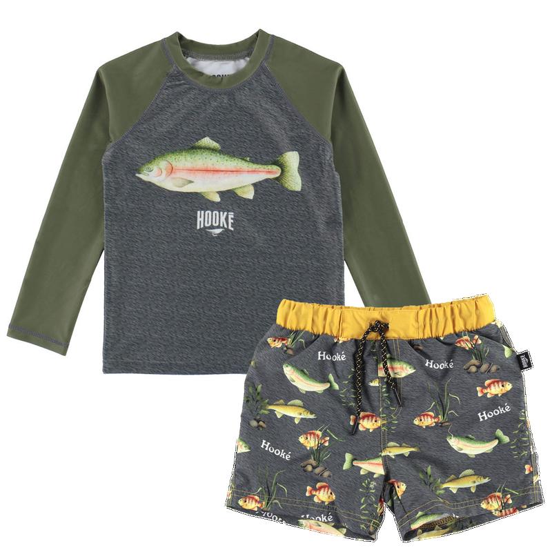 Swimshort+ Rasguard 2-12 - Fish