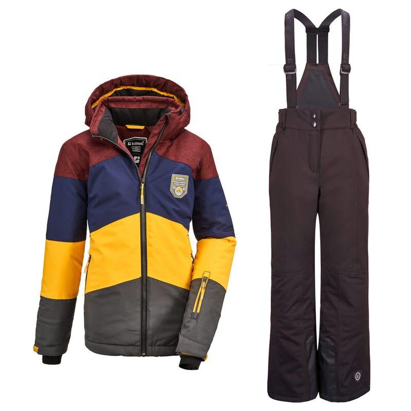 Snowsuits Fiames 10-16ans - Burgundy