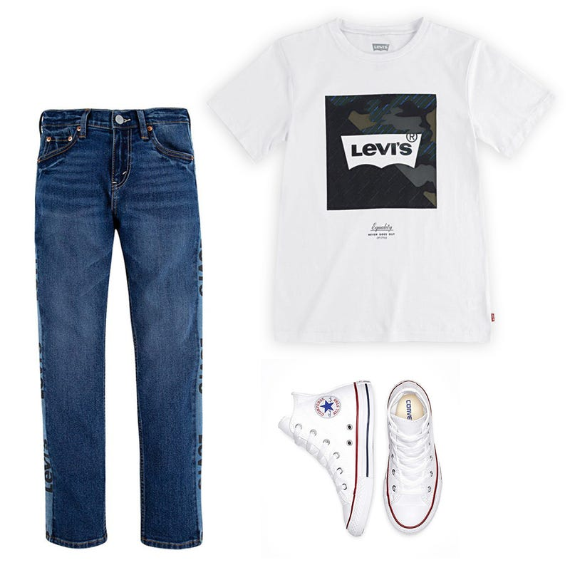 Bundle 3 mrcx LEVI'S 8-20 - White