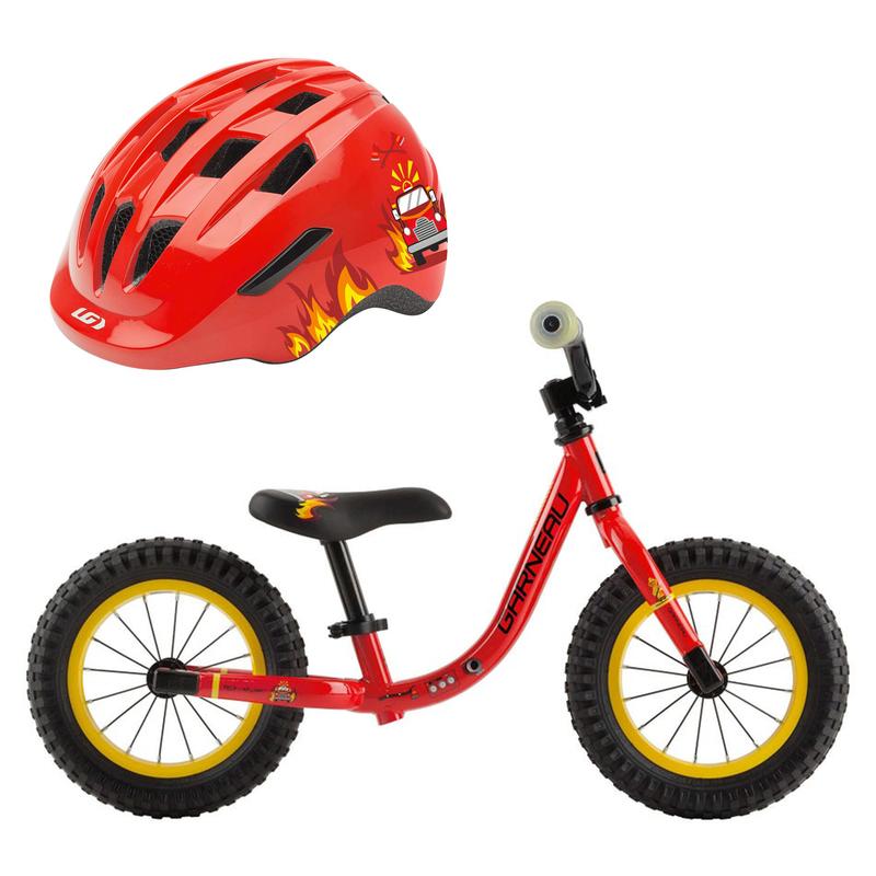 Vélo Mini Will + Casque - Rouge