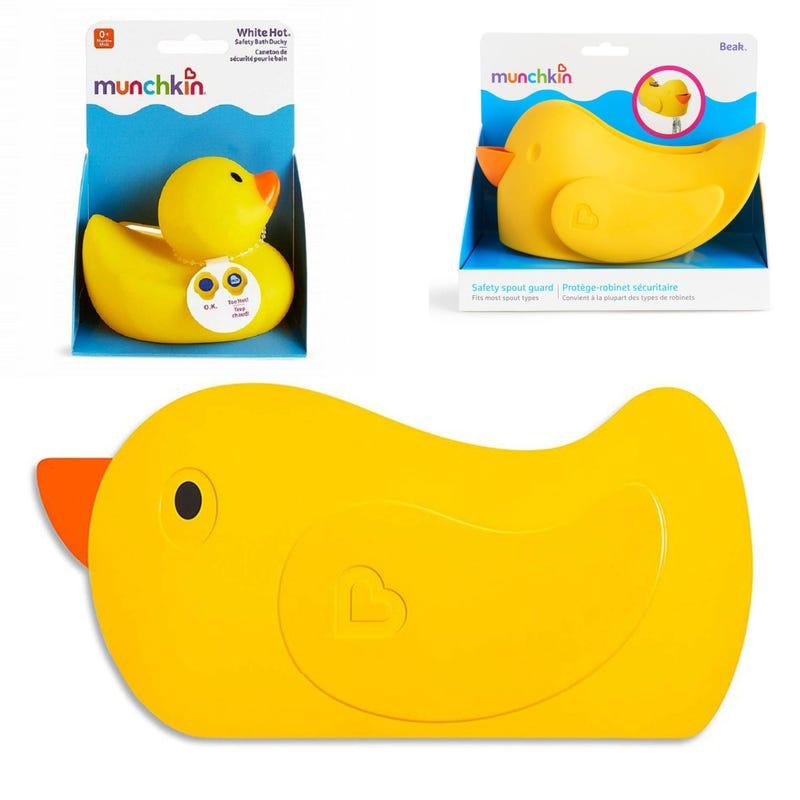 Quack Bath Mat+ White Hot Ducky + Beak Spout Guard