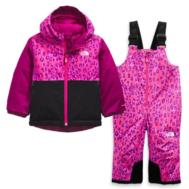 Snowsuit Snowquest 2-6Y - Dark pink