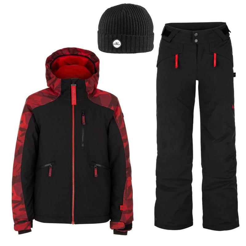 Habit de neige Diabase 8-16ans - Rouge