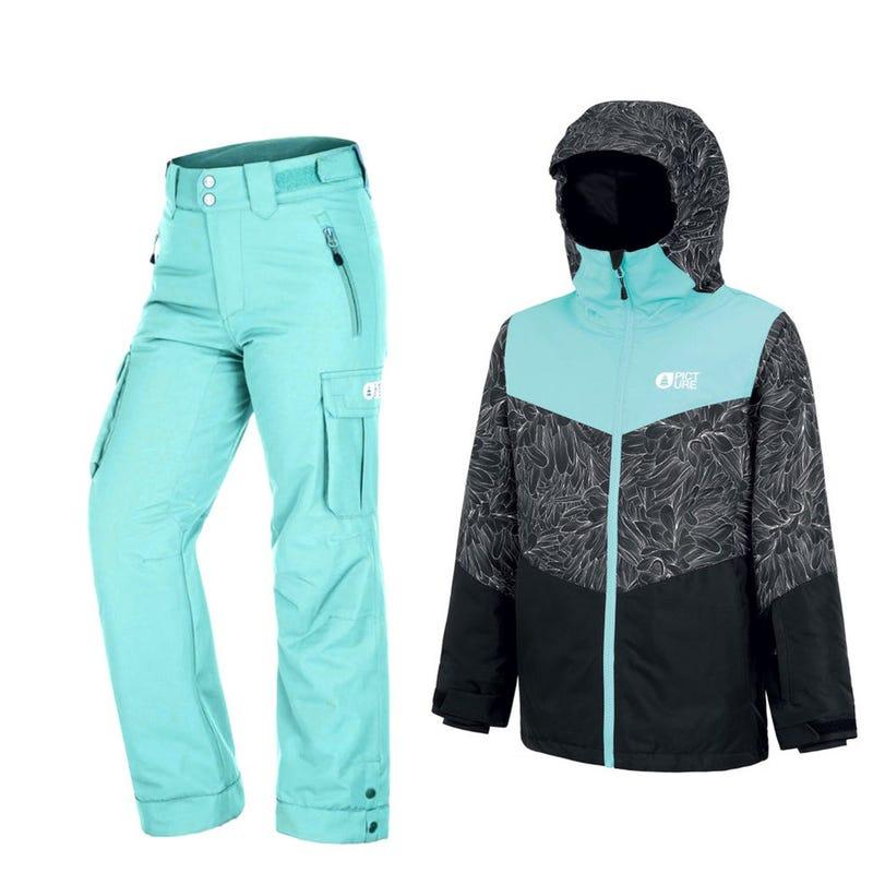 Habit de neige Weeky 8-14ans - Turquoise