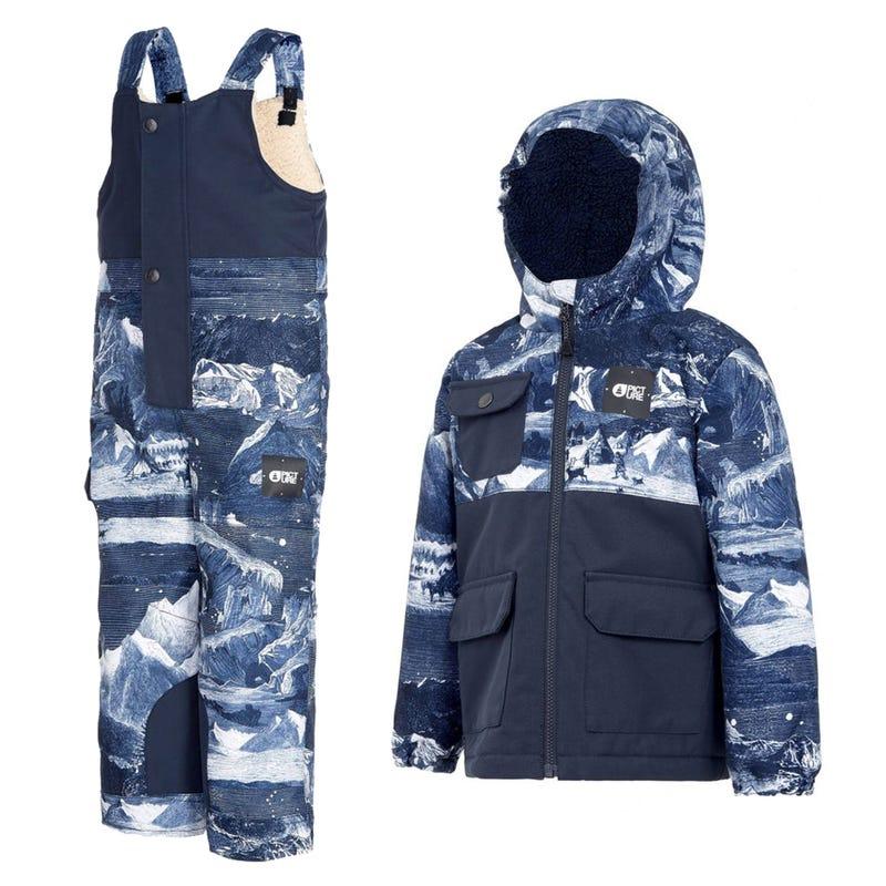 Snowsuit Snowy 3-5y  - Navy Blue