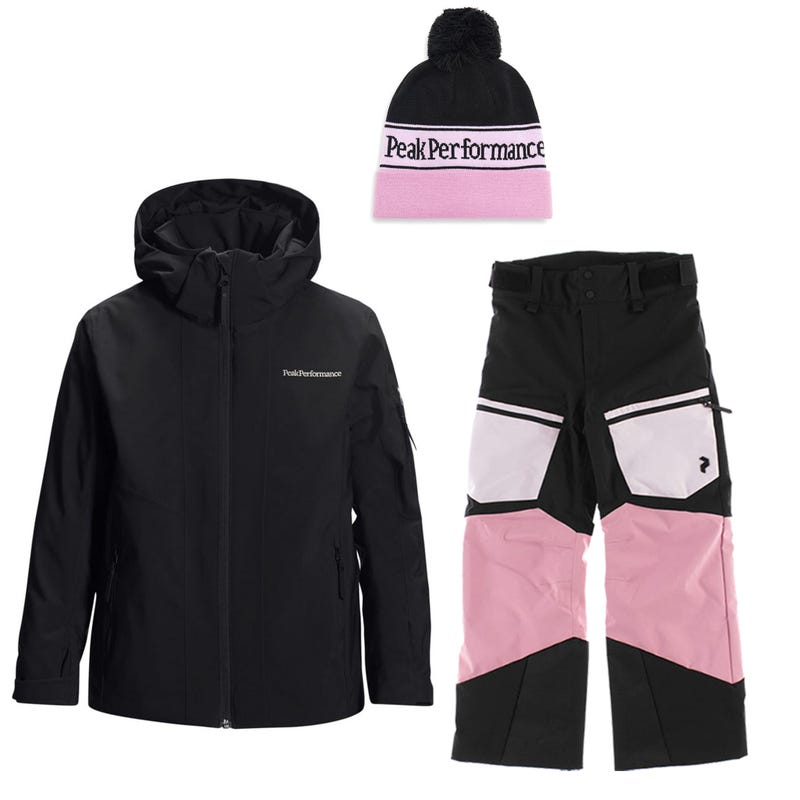 Snowsuit Jr Maroon 7-14 - Pink