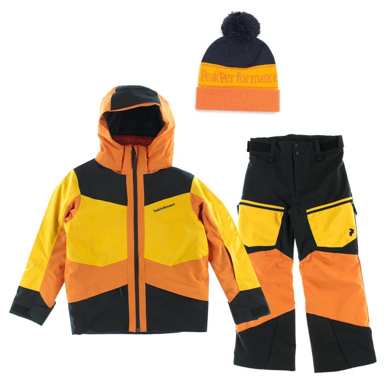 Habit de neige Jr Gravity 7-14 - Orange