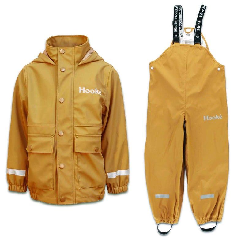 Bundle Raincoat ans Splash Pants 2-14y - Ocher