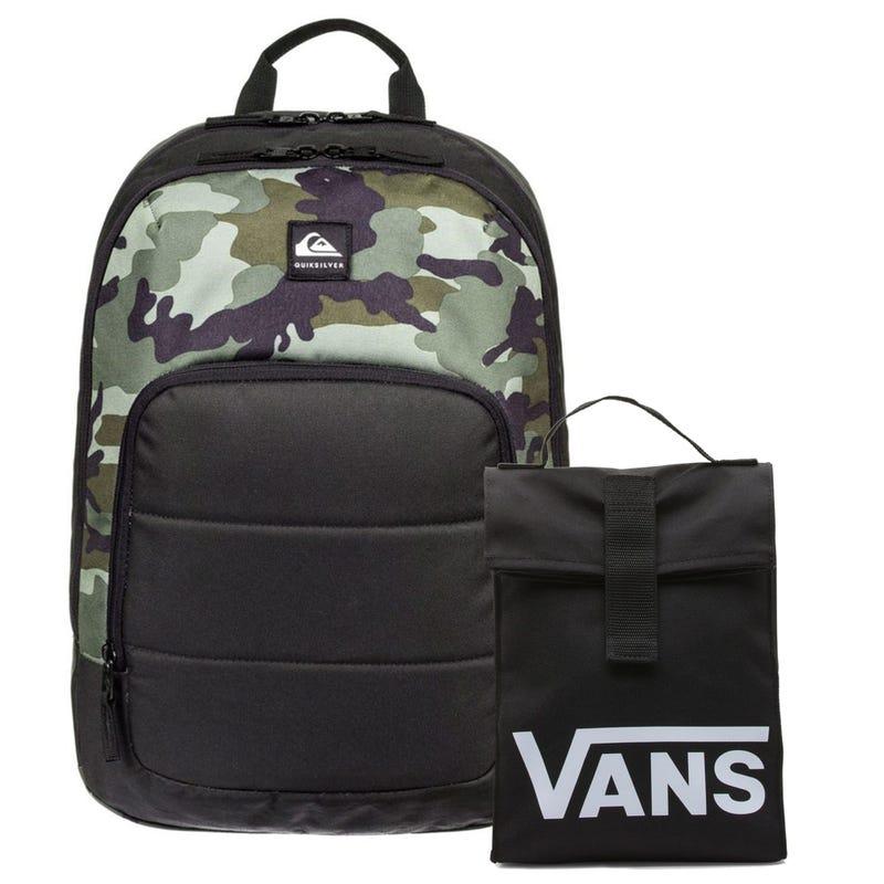 Bundle Backpack + Lunch Box - Burst