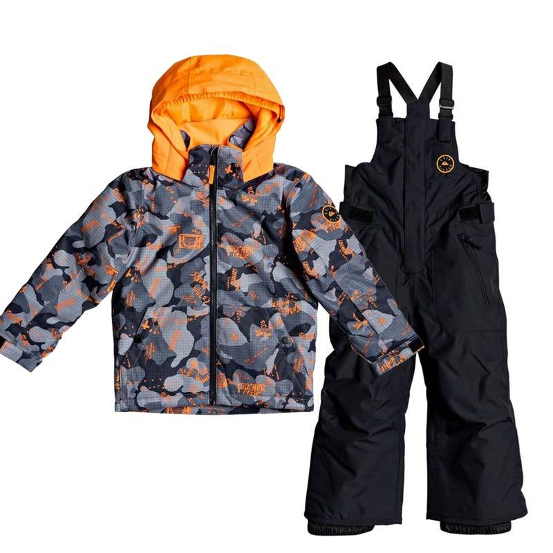 Habit de neige Little Mission 2-7 ans - Orange
