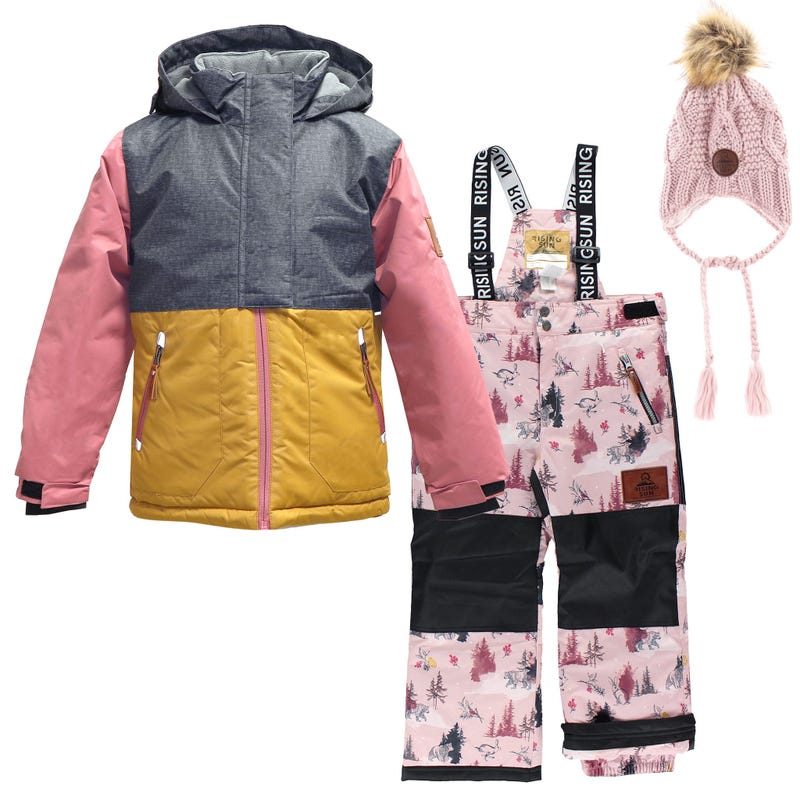 Snowsuit + Hat 4-14Y - Mystic Winterland