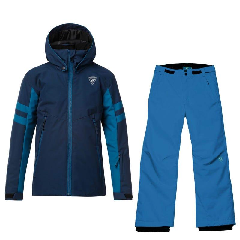 Snowsuit Ski 10-16ans - Navy Blue