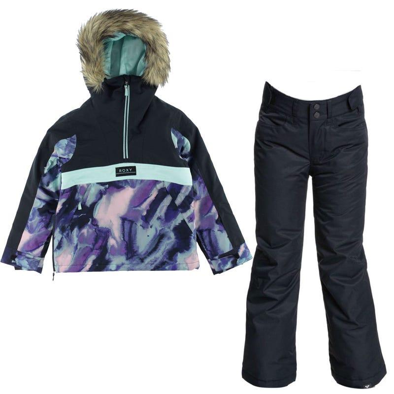 Shelter Snowsuit 10-16Y - Black