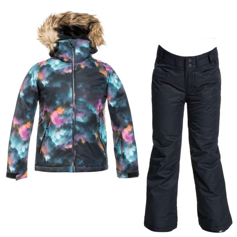 Snowsuit American Girl 10-16Y - Black