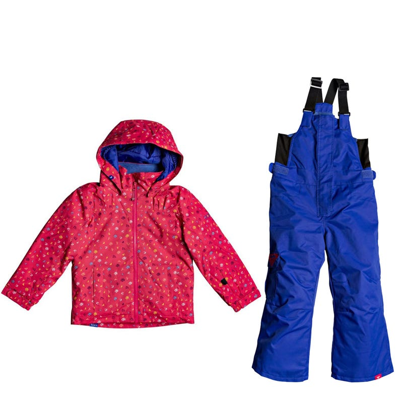 Habit de neige Mini Jetty 2-7 ans- Fushia