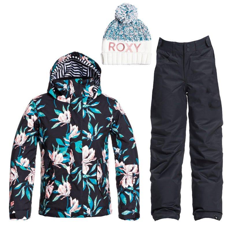 Snowsuit 10-16y - Black