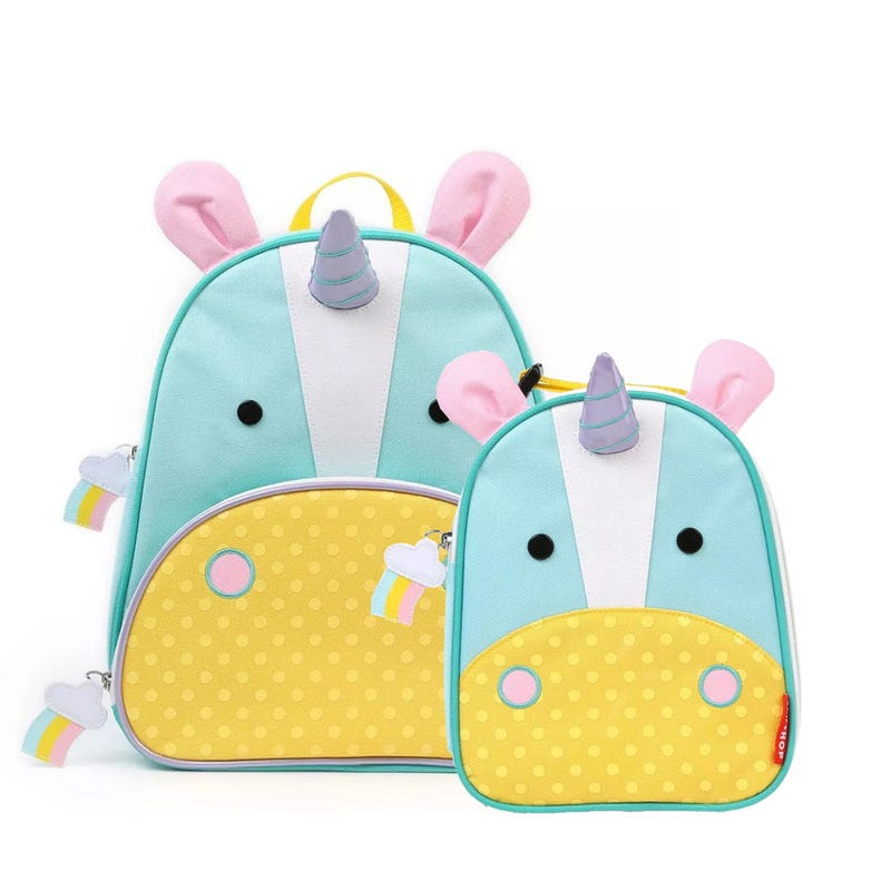 Bundle Backpack and Lunch box - Unicorn