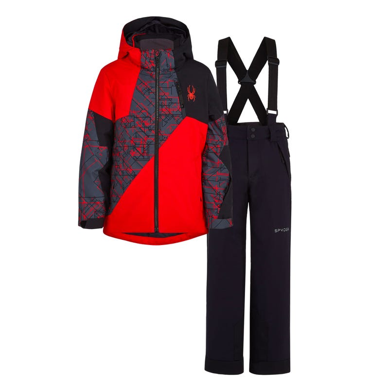 Bundle Snowsuit Ambush - Red