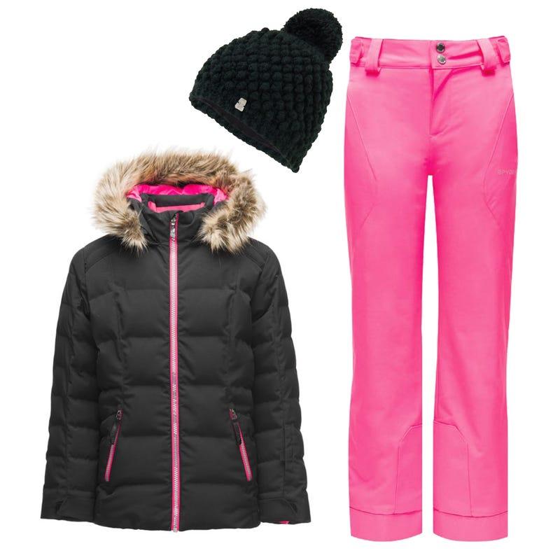 Snowsuit Atlas 10-14 y - Black