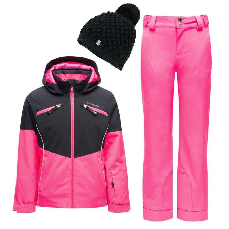 Snowsuit Conquer 10-14 - Dark Pink