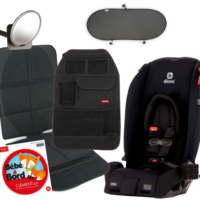 Bundle Radian 3RX + Accessories - Black jet