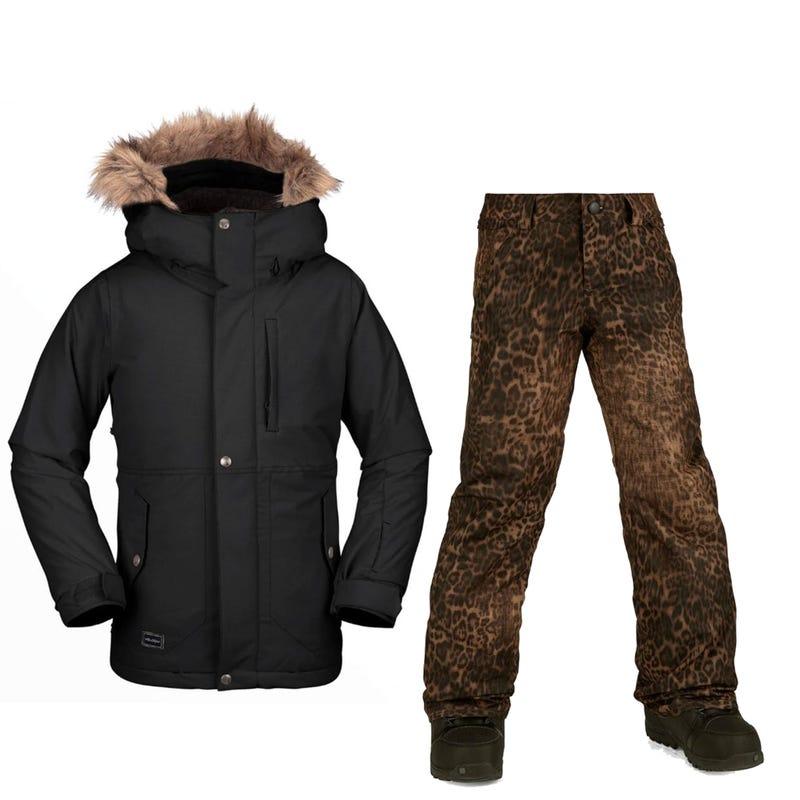 Snowsuit  Minty 8-16 - Black