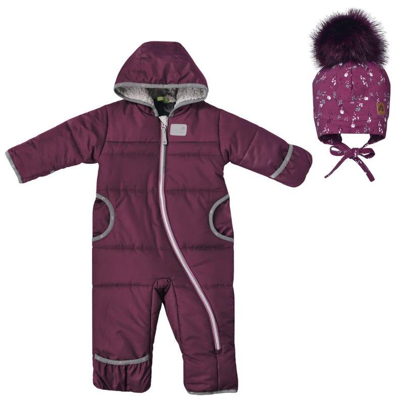 Vine Snowsuit 12-24m + Winter Hat