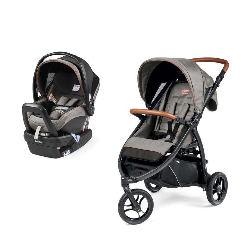 Bundle Z3 Agio Stroller and Nido Agio Car Seat - Grey