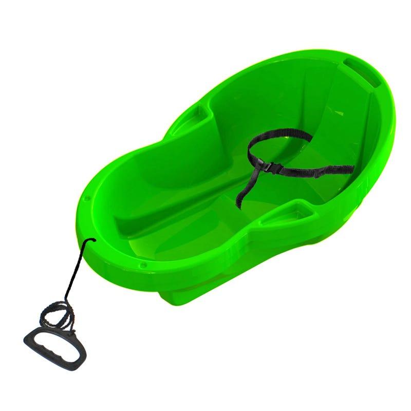Traîneau en Plastique pour Bébé - Vert