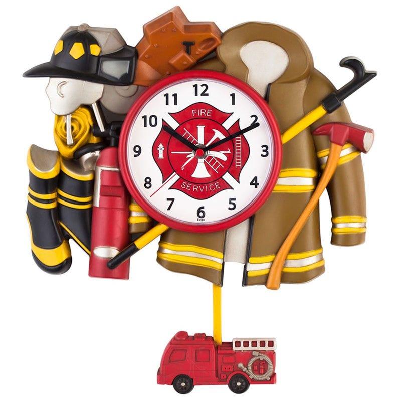 Horloge Décorative - Pompier